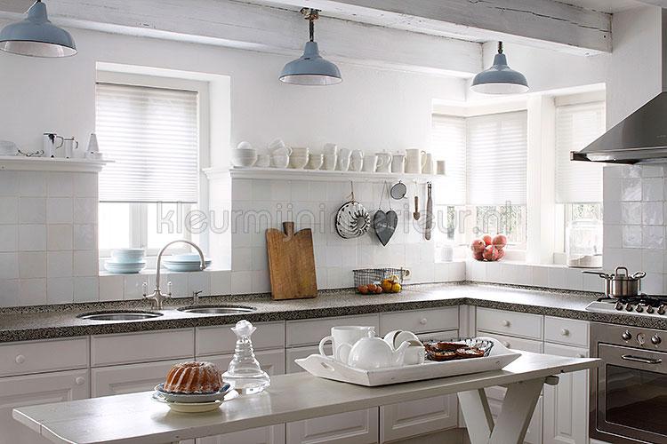 Beste Raamdecoratie Keuken : kan met zijgeleiding geleverd worden waardoor goed toepasbaar