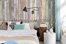 behang hout Vintage Wood