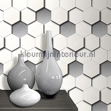 behang modern Panels 3d