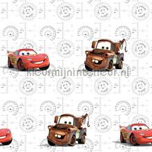 kinderkamer kinderbehang jongens behang Cars lightning Mc Queen en Mater