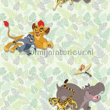 kinderkamer kinderbehang jongens behang Lion guard