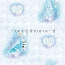 kinderkamer kinderbehang jongens behang Frozen Elsa en olaf