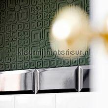 retro behang Overschilderbaar behang Cottage Garden