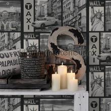 behang zwart-wit NYC