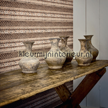 behang modern Bohemian beige