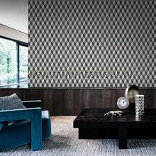 behang zwart-wit 3d cubiq