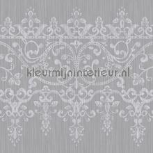 behangranden kyasha frieze border silver