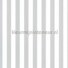 kinderkamer kinderbehang jongens behang Strepen grijs wit