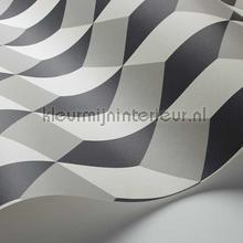 behang zwart-wit Delano