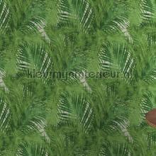 retro behang Palmtakken groen