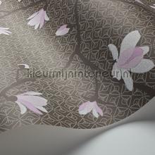 behang romatisch Magnolia