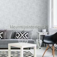 behang modern Kalk effect warmgrijs