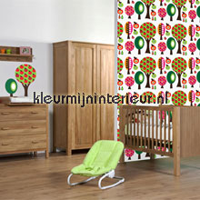 interieursticker kinderkamer Fruitbomen stickerset