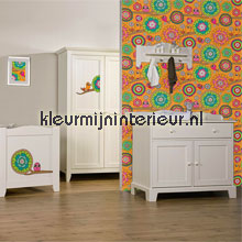 interieursticker kinderkamer Bloemen stickerset