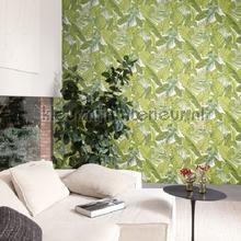 behang natuurlijke materialen tropical