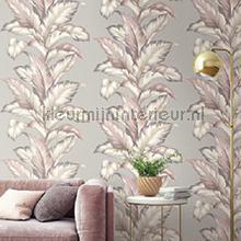 behang natuurlijke materialen Big leaf