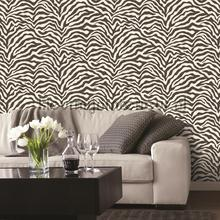 Behang retro klassiek barok modern zwart wit behangpapier - Behang zebra ...