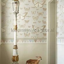behang romatisch Butterflies & Dragonflies
