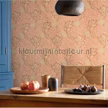 behang romatisch Apple rust gold