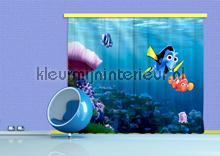 gordijnstoffen jongenskamer Nemo en Dory