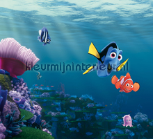 gordijnstoffen meisjeskamer Nemo en Dory