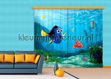 gordijnstoffen jongenskamer Nemo