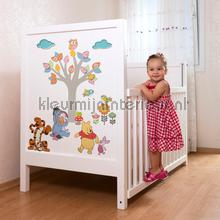 interieursticker kinderkamer winnie pooh nature lovers