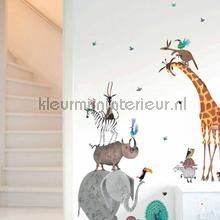 interieursticker kinderkamer fiep westendorp animals xl