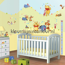 interieursticker kinderkamer Winnie the Pooh sticker-set