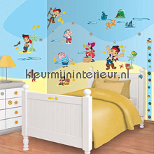 interieursticker kinderkamer Jake and the NeverLand Pirates