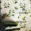 Parchment Flowers behang