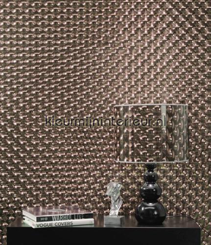 3d effect 310902 behang club van eijffinger - Behang effect van materie ...