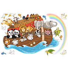Noahs Ark big sticker autocolantes decoracao York Wallcoverings Beb�s Crian�as