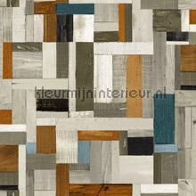 Sloophout vintagelook papel de parede Esta home madeira