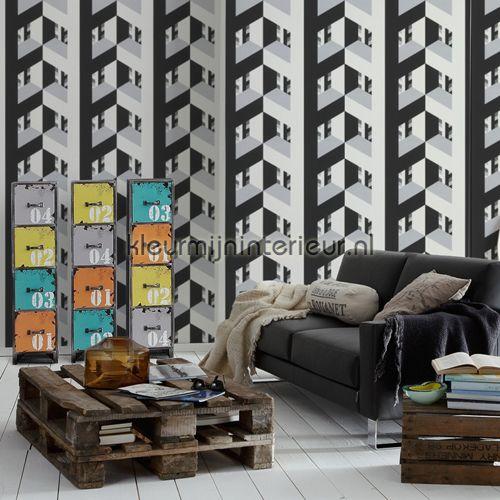 3diepte 955242 behang contzen 4 van as creation - Grafisch behang ...