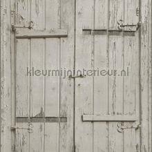 Luiken grijsbeige papel de parede Rasch madeira