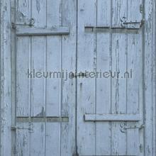 Luiken blauw papel de parede Rasch madeira