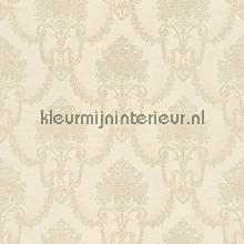Floral bouquet damask creme papel pintado Rasch barroco