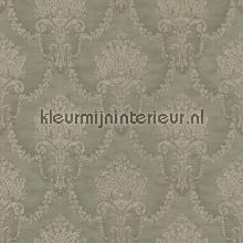 Floral bouquet damask gris-beige papel pintado Rasch barroco