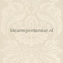 Large damask off white papel pintado Rasch barroco