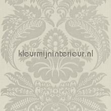 Large damask light grey papel pintado Rasch barroco