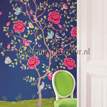 PIP Morning Glory Blauw Behang fotobehang Eijffinger PiP studio wallpaper