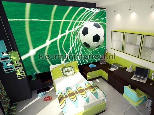 Goal fotobehang 015-VE M kinderkamer jongens Kleurmijninterieur