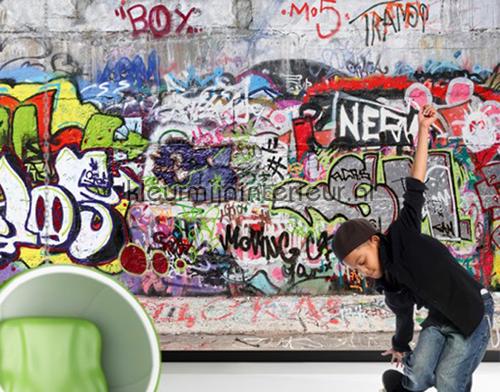 Cool Graffiti fotobehang 162 kinderkamer jongens Mantiburi