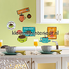Cafe interieurstickers RMK1740SCS abstract modern RoomMates