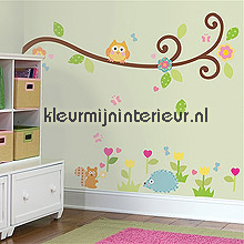 Scroll Tree interieurstickers RoomMates bloemen natuur